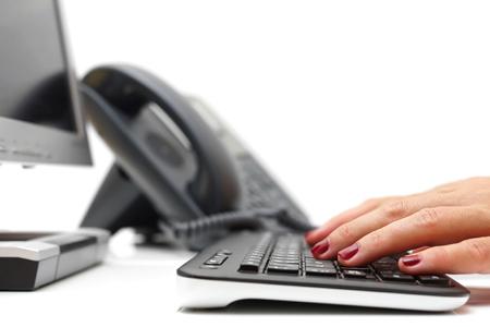 Telefonpassning, administration, bokföring hos Telecenter i Ljungby